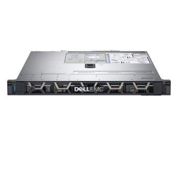 Сървър Dell PowerEdge R340 (#DELL02417_1), шестядрен Coffee Lake Intel Xeon E-2136 3.3 GHz, 16GB DDR4 ECC UDIMM, 2x 1TB HDD, 2x 1GbE LOM, 2x USB 3.0, без ОС, 1x 350W PSU image