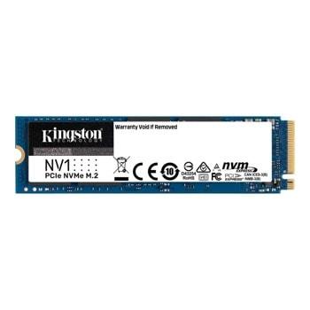 Памет SSD 1TB Kingston NV1 (SNVS/1000G), NVMe, M.2 (2280), скорост на четене 2100 MB/s, скорост на запис 1700 MB/s image