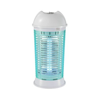 Уред против насекоми Crown IK-1100, 11 W, UV лампа, дo 40 m2 площ, бял/син image