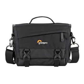 Чанта за фотоапарат Lowepro m-Trekker SH 150, за безогледална камера с обектив и таблет, черен image