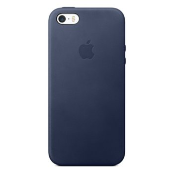 Apple iPhone SE Leather Case - Midnight Blue product