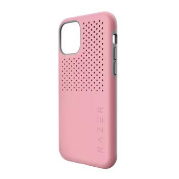 Калъф за Apple iPhone 11 Pro Max, хибриден, Razer Arctech Pro Quartz RC21-0145PQ08-R3M1, удароустойчив, розов image