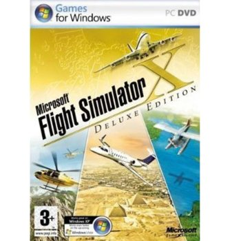 Microsoft Flight Simulator X: Deluxe Edition product