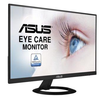 """Монитор Asus VZ249HE, 23.8"""" (60.45cm) IPS панел, Full HD, 5ms, 80000000:1, 250 cd/m2, HDMI, D-Sub image"""