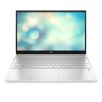 "Лаптоп HP Pavilion Laptop 15-eg0024nu (33G95EA), двуядрен Tiger Lake Intel Core i3-1115G4 4.1 GHz, 15.6"" (39.62 cm) Full HD IPS Anti-Glare Display (HDMI), 8GB DDR4, 256GB NVMe SSD, 1x USB Type-C, FreeDOS, 1.75kg image"