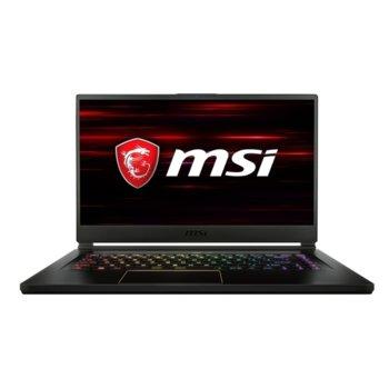 "Лаптоп MSI GS65 Stealth 8RE (9S7-16Q211-606), шестядрен Coffee Lake Intel Core i7-8750H 2.2/4.1 GHz, 15.6"" (39.62 cm) Full HD Anti-Glare Display & GF GTX 1060 6GB, (mDP), 8GB DDR4, 256GB SSD, 1x Thunderbolt 3, Free DOS, 1.8 Kg  image"