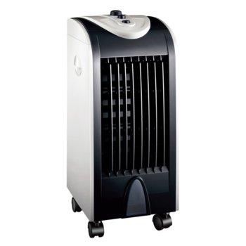 Овлажнител на въздух Finlux FCS-754LB, 75W, 4L резервоар, 3 скорости на вентилатора, черно - бял image