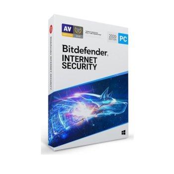 Софтуер Bitdefender Internet Security, за Windows, 1 потребител, 1 година image