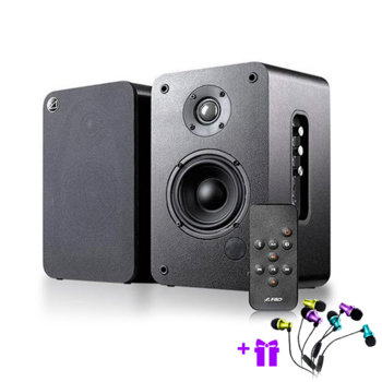 Тонколони Fenda F&D R30BT, 2.0, RMS 50W (25W + 25W), Bluetooth, дистанционно, черни image