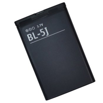 Батерия (оригинална) Nokia BL-5J(нов модел) за Nokia 5228, 5230 XM, 5800 XM, N900, C3 и други, 1430mAh/3.7V image