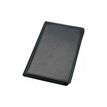 Визитник Centrum, събира 120бр. визитки, кожен черен image
