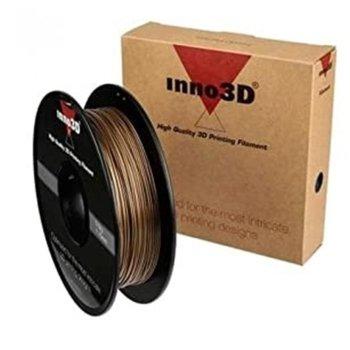 Консуматив за 3D принтер Inno3D, ABS Gold, 1.75mm, златист, 500g, пакет от 5 броя image
