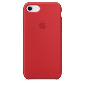 Apple iPhone 8/7 Silicone Case Red product