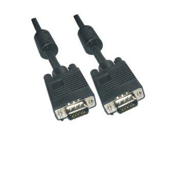 Кабел VCom CG341D, VGA(м) към VGA(м), 1.5m image
