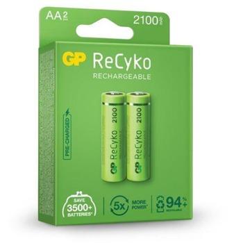 Акумулаторни/батерии GP, R6, AA, R6, 1.20V, 2100 mAh, NiMH, 2бр image