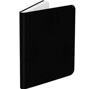 """Калъф за електронна книга BOOKEEN Classic, за PocketBook Diva/Diva HD, 6"""" (15.24 cm), еко кожа, черен image"""
