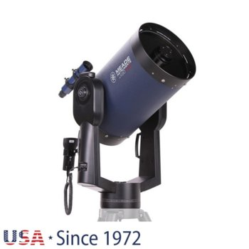 Телескоп Meade LX90 12 f/10 ACF без триножник, 8x50 mm с решетка с кръстче оптично увеличение, 305mm диаметър на лещата, 3048mm фокусно разстояние image