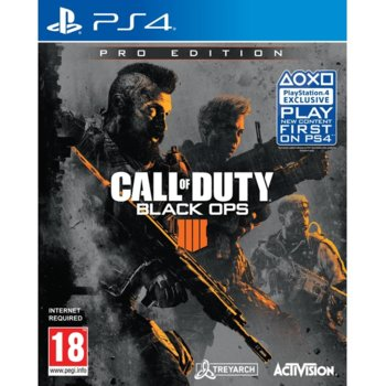 Игра за конзола Call of Duty: Black Ops 4 Pro Edition, за PS4 image