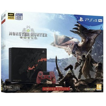 PS4 Pro 1TB + Monster Hunter World LE product