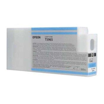 ГЛАВА ЗА EPSON STYLUS PRO 7900/9900 - T5965 - Light Cyan - P№ C13T596500 - 350 ml image