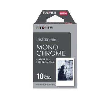 Фотохартия Fujifilm Monochrome Instant Film, за Fujifilm Instax Mini, 10 листа image