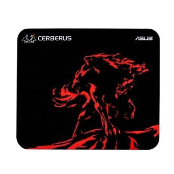 Подложка за мишка Asus Cerberus Mini Mat, гейминг, 250 х 210 х 2, червена image