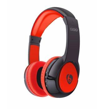 Слушалки Ovleng S99, безжични, микрофон, Bluetooth, SD, FM, различни цветове image
