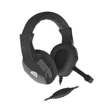 Слушалка Genesis Argon 100, микрофон, черни image