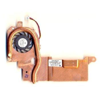 Вентилатор за лаптоп (CPU Fan) + HeatSink HP съвместим с Mini 2133 image