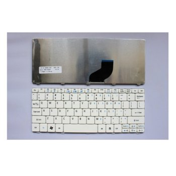 Клавиатура за Acer Aspire ONE 532H White US product