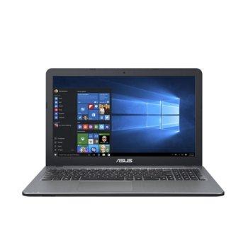 "Лаптоп Asus X540UB-GO454 (90NB0IM3-M16810)(сребрист), двуядрен Kaby Lake Intel Core i3-8130U 2.2/3.4 GHz, 15.6"" (39.62 cm) HD Anti-Glare Display & MX110 2GB, (HDMI), 4GB DDR4, 1TB HDD, 1x USB 3.0, Endless OS, 2.00 kg image"