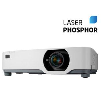 Проектор NEC P605UL, 3LCD, 1920x1200 (WUXGA), 500000 :1, 6000 lm, HDMI, VGA, LAN image