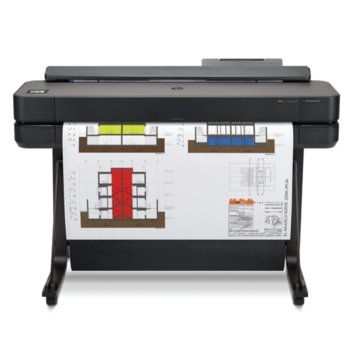 Плотер HP DesignJet T650, 2400 x 1200 dpi, 1GB, LAN, Wi-Fi, USB, A4, A3, A2, A1  image