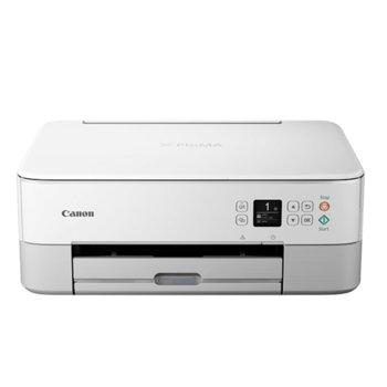 Мултифункционално мастиленоструйно устройство Canon PIXMA TS5351 (3773C026AA), цветен принтер/копир/скенер, 4800 x 1200 dpi, 29 стр./мин, USB, Wi-Fi, Bluetooth image