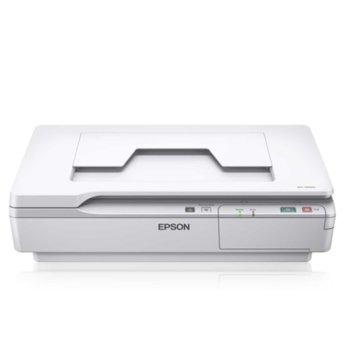 Скенер Epson WorkForce DS-5500, 1200dpi, A4, двустранно сканиране, USB, LAN image