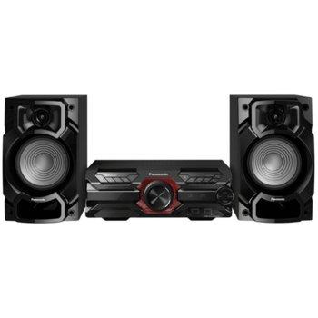 Тонколони Panasonic SC-AKX320E-K, 2.0, 450W RMS, Bluetooth, AUX, 2x USB, черни image