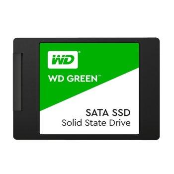 """Памет SSD 1TB, Western Digital Green, SATA 6GB/s, 2.5"""" (6.35 cm), скорост на четене 545 MB/s, скорост на качване 430 MB/s image"""