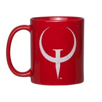 Чаша Gaya Entertainment Quake Champions Mug Logo, червена image