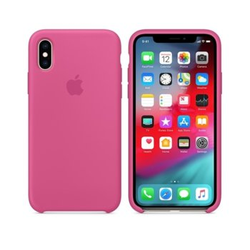Apple iPhone XS Silicone Case - Dragon Fruit product