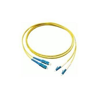 Оптичен пач кабел, LC/UPC(м) към SC/UPC(м), 9/125, сингъл мод, 3m image
