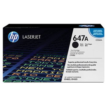 КАСЕТА ЗА HP LASER JET CP4025/CP4525 - Black - P№ CE260A - заб.: 8500k image
