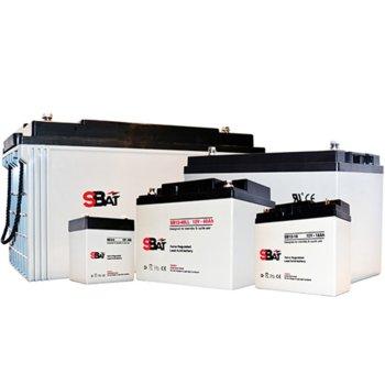 Акумулаторна батерия SBat SB12-18, 12V, 18Ah image