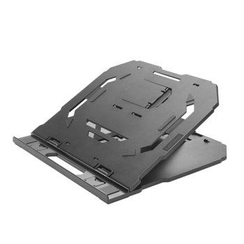 "Охлаждаща поставка за лаптоп Lenovo 2-in-1 Laptop Stand, за лаптопи до 15"" (38.10 cm), черна image"