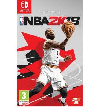 Игра за конзола NBA 2K18, за Switch image