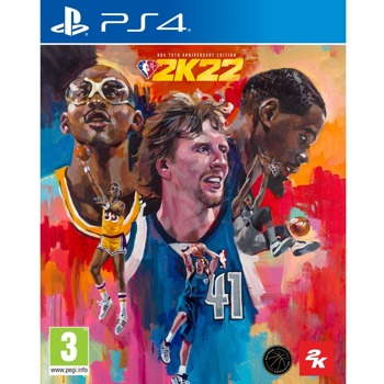 Игра за конзола NBA 2K22 - 75th Anniversary Edition, за PS4 image