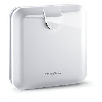 Сирена devolo 09681, Z-Wave безжичен стандарт, до 20 метра вътрешен обхват/до 100 метра външен обхват, вътрешно използване, 2 бутона, 3 LED лампички, максимален звук: 110 dB, бяла image