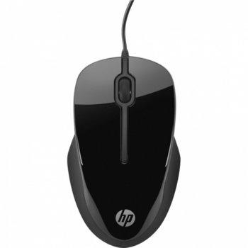 Мишка HP X1500, оптична, черна, USB image