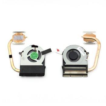 Вентилатор + Heatsink за лаптоп, съвместим с Toshiba Satellite C75D C75-C C75D-C image