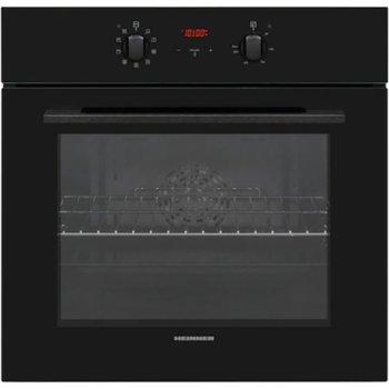 Фурна за вграждане Heinner HBO-V659GCDRC-GBK, клас А, 69 л. обем на фурната, функция грил, вентилация, таймер, сензорен дисплей, каталитични панели, черна image