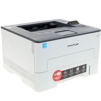 Лазерен принтер Pantum P3300DW, монохромен, 1200 x 1200 dpi, 35 стр/мин, WiFi, LAN, USB, A4, двустранен печат image